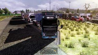 getlinkyoutube.com-Euro Truck Simulator 2 Multiplayer | Long Convoy | Turkey | TRUCKMP | Gameplay | Part #4 |