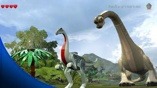 getlinkyoutube.com-LEGO Jurassic World - ALL DINOSAURS FREE ROAM GAMEPLAY