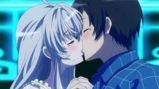 getlinkyoutube.com-Haiyore Nyaruko-san! F Nyaruko and Mahiro Kiss