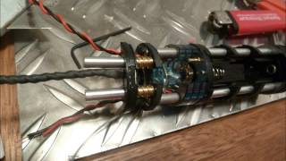 Assembling my vintage graflex Lightsaber with crystal Chamber