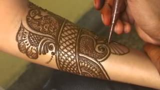getlinkyoutube.com-How To Make Henna Mehendi Designs   Bridal Mehendi by Sunil Kumar