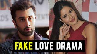 getlinkyoutube.com-Ex Ranbir Kapoor Katrina Kaif FAKE Love In Public   Jagga Jasoos Promotions