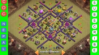 getlinkyoutube.com-Clash of Clans | Town Hall Level 8 Best War/Trophy Base (v1.0)