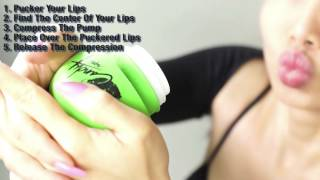 best lip plumper- the palm method: award winning lip pump