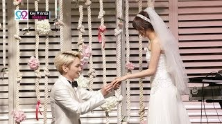 getlinkyoutube.com-Global We Got Married S2 EP07 Compact (SHINee Key & Arisa, Super Junior Heechul & Puff) 140518
