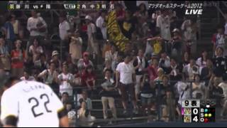 getlinkyoutube.com-2012 NPB オールスターゲーム 藤川球児