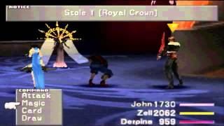 getlinkyoutube.com-Final Fantasy VIII HD - Seifer/Edea 2nd Battle