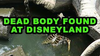 Dead Body Found at Disneyland