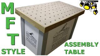 MFT style assembly table
