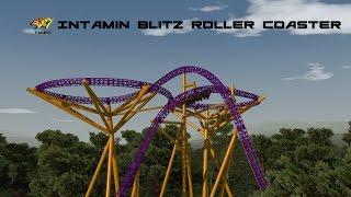 NoLimits 2  Tiger  Intamin Blitz Coaster