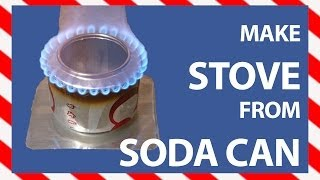 getlinkyoutube.com-Portable Stove: How to make a Soda Can Stove