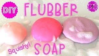 getlinkyoutube.com-DIY FLUBBER SOAP - SQUISHY SOAP