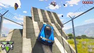 getlinkyoutube.com-GTA 5 Epic Jump Race & Demolition Derby!! PS4 GAMEPLAY with THE CREW (GTA 5 Funny Moments)