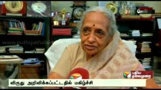 Exclusive chat with Doctor Shanta on getting Padma Vibhushan award