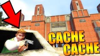 CACHE CACHE À L'ÉCOLE !! GARRY'S MOD