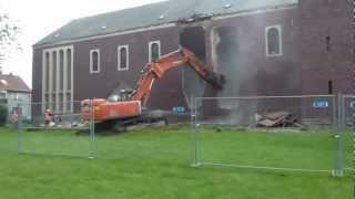 getlinkyoutube.com-Profanierung und Abriss St.-Barbara-Kirche in Suderwich
