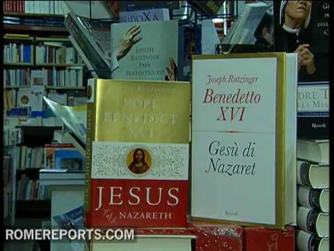 Pope says he finished the second part of his book 'Jesus of Nazareth'