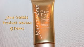 Product Review & Demo | Jane Iredale Glow Time Full Coverage Mineral BB Cream