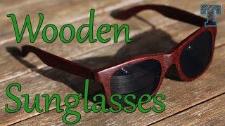 getlinkyoutube.com-Homemade Wooden Sunglasses: Summer Woodworking Project