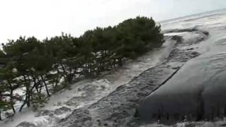 getlinkyoutube.com-Incredible footage of  Incoming Tsunami Japan.