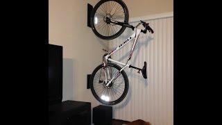 getlinkyoutube.com-Home made bike Rack