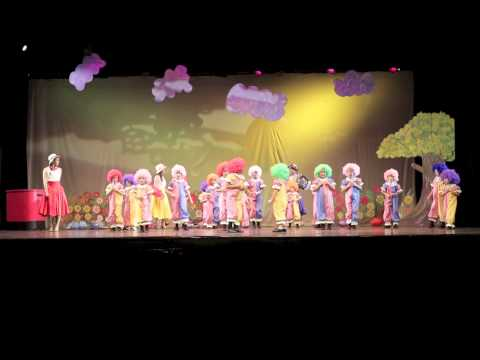 Marlupi Dance Recital - Clown - Greenville