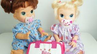 getlinkyoutube.com-Baby Alive Comilona e Hora de Comer Comprinhas Para Bela e Gabi Como Fazer Chupeta para Baby Alive