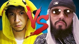 getlinkyoutube.com-Hiro VS Mussoumano | Batalha de Youtubers