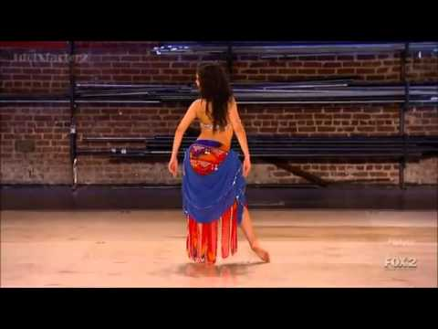 Janelle Issis Belly Dance   SYTYCD Season 9 Atlanta Auditions   YouTube