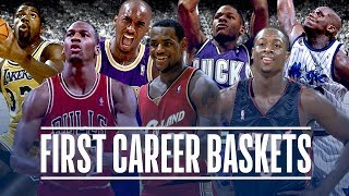 getlinkyoutube.com-50 First Career Baskets from NBA Players