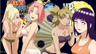 Naruto Shippuden: Ultimate Ninja Storm 3 (New DLC) - Swimsuit Pack + Hello Kitty Sakura!