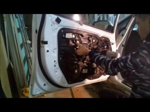 Снятие обшивки водительской двери KIA Ceed. Полный разбор. Kia cee'd JD 2012