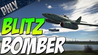 getlinkyoutube.com-BLITZ BOMBER - Me-262 Sturmvogel (War Thunder Jet Gameplay)