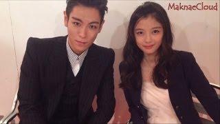 getlinkyoutube.com-T.O.P Bigbang & Kim Yoo Jung's Cute Moments