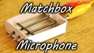 getlinkyoutube.com-How to Make a Matchbox Microphone