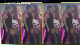 getlinkyoutube.com-(VIDEO) Ariana Grande KISSES Dancer-Boyfriend Ricky Alvarez On Stage During Performance