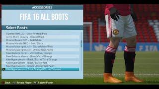 getlinkyoutube.com-FIFA 16 All Boots (Xbox One, PS4, PC)