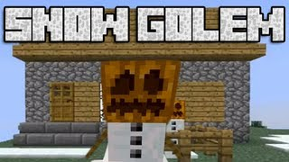 getlinkyoutube.com-The Snow Golem - Minecraft