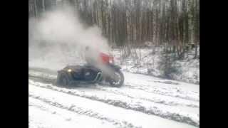 getlinkyoutube.com-Урал 2WD с приводом Днепр 16