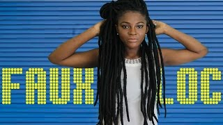 getlinkyoutube.com-DIY Faux Locs with Cuban Twist | Fast Easy Method