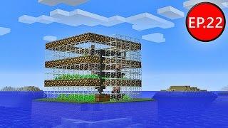 getlinkyoutube.com-TAEEXZENFIRE Minecraft (1.8.8) #22 - ฟาร์มขนมปังอัตโนมัติ Automatic Bread Farm