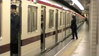 getlinkyoutube.com-大阪市営地下鉄 御堂筋線 なんば-本町間 Subway Midōsuji Line Osaka Japan