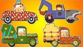 getlinkyoutube.com-Мультики про машинки и автосервис сборник 30 минут. Про машинки для детей. Машинки для детей.