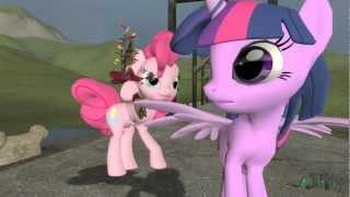 getlinkyoutube.com-Pinkie Pie and Rainbow Dash get Lost in Time