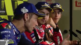 FULL Post Race Press Conference MotoGP 2018 Catalunya Spain Montmello Barcelona