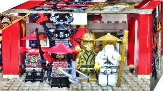 getlinkyoutube.com-레고 닌자고 황금닌자 로이드,제왕 가마돈,마스터 우,정찰병,전사 70505 빛의 신전 미니피규어 소개 LEGO Ninjago Temple of Light mini figures
