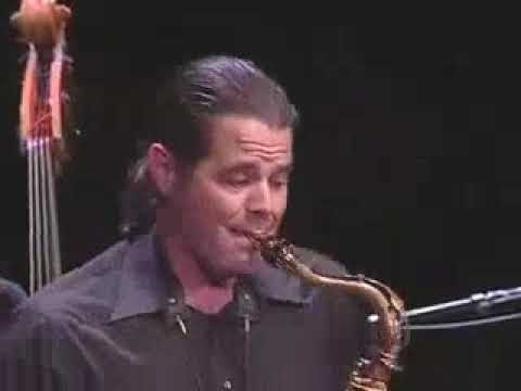 """Dino Govoni & Friends:  """"Twice"""" by Andy McWain, Fuller Street Music (ASCAP)  Dino Govoni, saxophone J. Galindo, trombone Andy McWain, piano Paul Del Nero, bass Chris Poudrier, drums"""