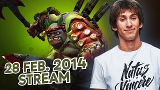 getlinkyoutube.com-Dota 2 Stream: Na`Vi Dendi - Pudge (Gameplay & Commentary)