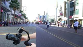 getlinkyoutube.com-Beholder EC1 Camera Stabilizer Point and Lock Mode How to with A7SII and 16-35mm