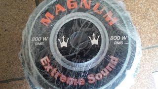 getlinkyoutube.com-Projeto civic #1 - Amaciando os Magnum Rex 800w rms 10' polegadas Sub 1080p